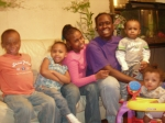 Al-Nisa Robinson and all her children